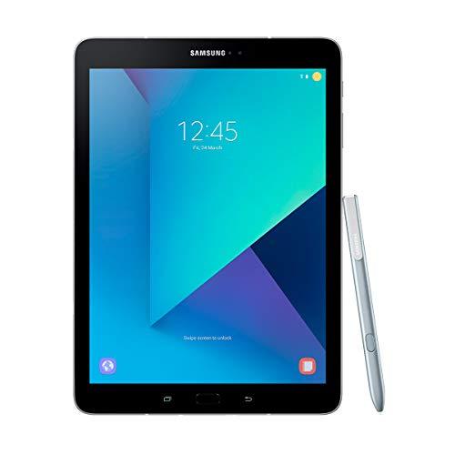 """Samsung Galaxy Tab S3 - Tablet de 9.7"""" 2K (WiFi, Procesador Quad-Core Snapdragon 820, 4 GB de RAM, 32 GB de almacenamiento, Android 7.0); Plateado + S Pen incluido [España]"""
